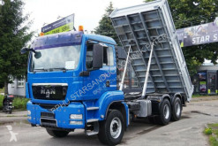 Camion benne occasion MAN TGS 26.360 6x4 under the Kran Cran Kipper