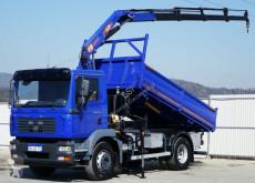 Camion MAN TGM 18.240 Kipper 4,30 m+KRAN/FUNK plateau occasion