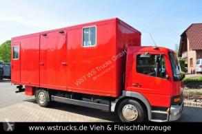 Kamion vůz na dopravu koní Mercedes 1224 EURO. 3
