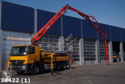 Camion betoniera cu malaxor si pompa second-hand Mercedes Actros 2636