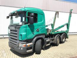 Kamión vozidlo s hákovým nosičom kontajnerov Scania R420 6x2/4 6x2/4 Vorlauflenk-/Liftachse NSW