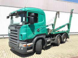 Camion Scania R420 6x2/4 6x2/4 Vorlauflenk-/Liftachse NSW multibenna usato