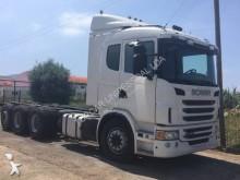 ciężarówka podwozie Scania