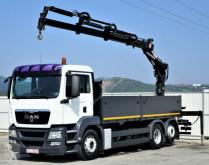 camion MAN TGS 26.360 Pritsche 5,90 m+Kran/FUNK*6x2!