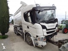 Scania G 450 truck used food tanker