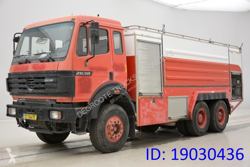 View images Mercedes SK 2638 truck