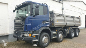 Scania G 440 8x4 440/8x4, Meiller Bordmatik, Retarder, Schalter truck used three-way side tipper