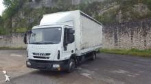 Camión lona corredera (tautliner) Iveco Eurocargo 75 E 16