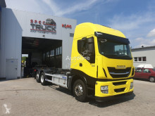 Lastbil Iveco Stralis 480, AUTOMAT, CURSOR 11 German Truck-M containertransport begagnad