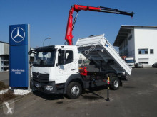 Mercedes Atego 1224 KK Kipper+Kran+Funk+Greifersteuer truck new three-way side tipper