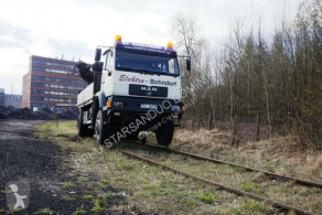 teherautó MAN 18.280 4x4 HIAB 166 Road RAIL Two way Schiene