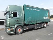 Camión Scania R 124R480 portacontenedores usado