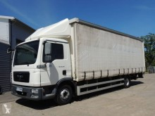 MAN TGL 12.180 truck used tautliner