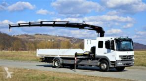 camion Mercedes ATEGO 1524 Pritsche 6,60m+Kran Topzustand!