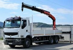 camion Renault Premium 410 DXI Pritsche 7,20m+Kran *6x4*