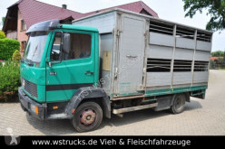 Camión remolque ganadero Mercedes 814 mit Kaba Aufbau 6 Zylinder