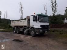 camion bi-benne Mercedes