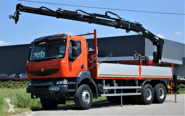 Voir les photos Camion Renault Kerax 370 DXI* Pritsche 6,80 m + Kran/FUNK *6x4
