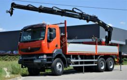 camion Renault Kerax 370 DXI* Pritsche 6,80 m + Kran/FUNK *6x4
