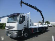 Vrachtwagen Renault Premium Lander 410 DXI tweedehands platte bak standaard