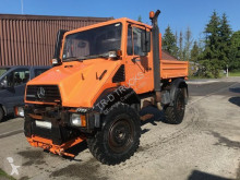 camion Mercedes UNIMOG U110 - KIPPER 3 WAY