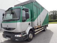 Camion Renault Midlum 220.13 fourgon baché fourgon occasion