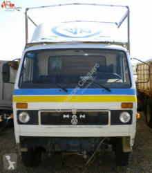 MAN flatbed truck 9.136