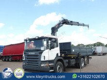 Scania G 420 truck used flatbed