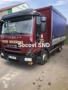 Camion Iveco Eurocargo 80EL18 furgon transport băuturi second-hand