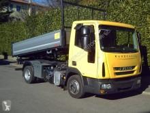 Camión volquete volquete trilateral Iveco Eurocargo 75 E 18