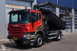 Scania three-way side tipper truck P 340