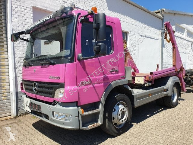 Voir les photos Camion Mercedes Atego II 1222 K  II 1222 K, Meier Ratio PAK 8 T
