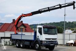 camion Renault Premium 420 DCI Pritsche 6,60m +Kran *6x4!