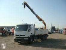 Camion platformă si obloane Renault Premium 320