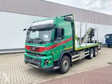camion nc FMX 500 6x4 FMX 500 6x4 Holztransporter, Loglift 120S Bj 2013, Blattfederung