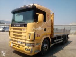 Camión Scania 124 LB 420 caja abierta usado