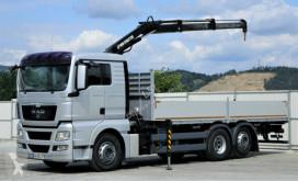 камион MAN TGX 26.440 Pritsche 6,90m+Kran *6x2*Topzustand!