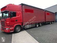 ensemble routier Scania Volume, Fourage, Self-unloading, Selbst Entladen, Stro, paille, paja