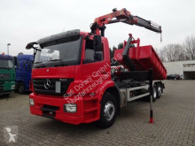 Camion plateau occasion Mercedes Axor 2533 Abrollkipper mit PK12502