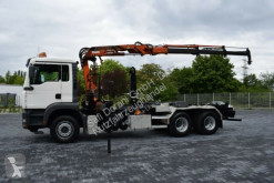 camion MAN 26.460 Abroller m. ATLAS 105,2 3xhydr. 5.+6. Bed
