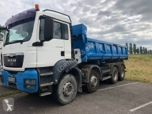 MAN TGS 35.400 truck used two-way side tipper
