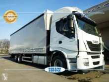 Camion Iveco Stralis AS 260 S 46 Y/PS cu prelata si obloane second-hand