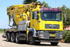 MAN TGA truck used concrete mixer + pump truck concrete