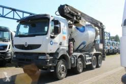 camion Renault Kerax 410 8x4 / Band12m/ Mischer 9m³