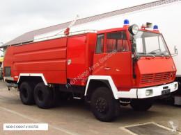 Camion pompiers Steyr 1490 6x6 ROSENBAUER FIRE TRUCK 9000+4000 L TANK *9667km*NEW