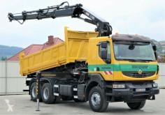 camion Renault Kerax 410 DXI Kipper 5,20m+HIAB 288/FUNK*6x4