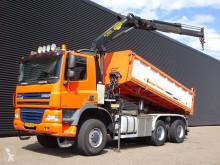 camion Ginaf X3335S / / PALFINGER CRANE / 2 SIDE TIPPER