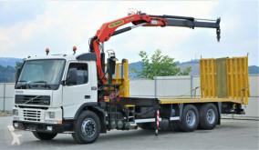 camion Volvo FM12 380 Abschleppwagen 7,50 +Kran * 6x4!