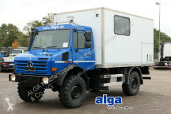 Kamion Mercedes Unimog U 4000, Werkstatt, Service, AHK dodávka použitý