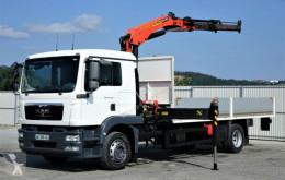 Camion plateau MAN TGM 18.280 Pritsche 6,10m+Kran/FUNK* Topzustand!